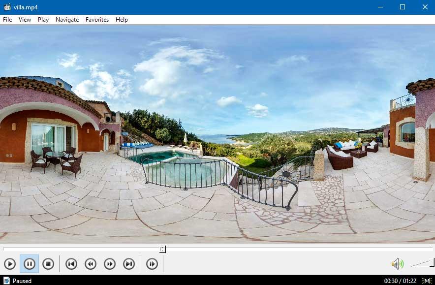 Эквидистантная проекция панорамного видео