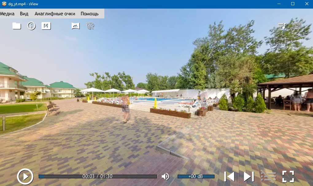 Видео 360 Sview