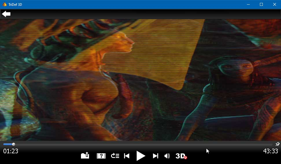 TriDef 3D Media Player