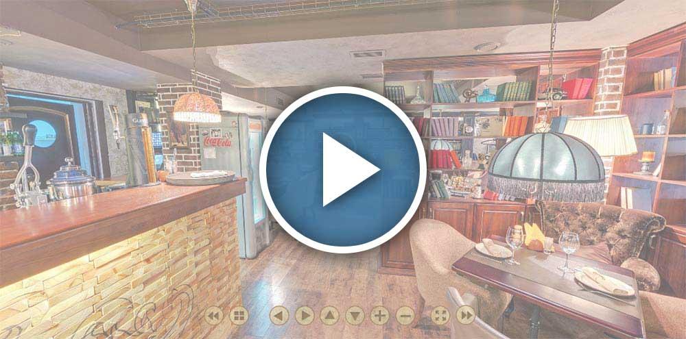 Виртуальный тур по ресторану