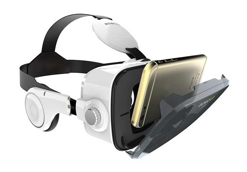 VR очки для просмотра 3D  видео на Youtube с телефона