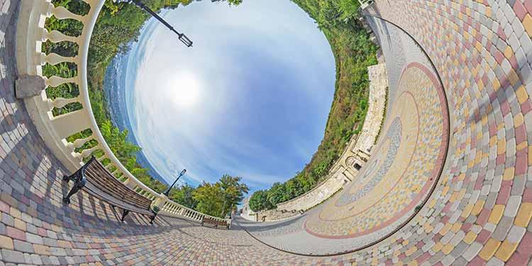 Круговая панорама в плагине Flexify 2