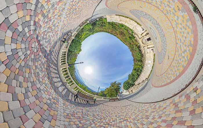 Круговая панорама в PTGui