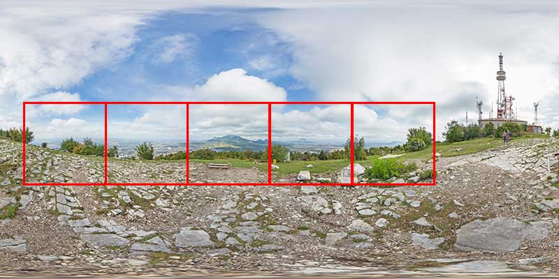 Подготовка панорамного изображения для Instagram
