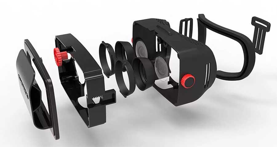 Устройство VR очков для телефона