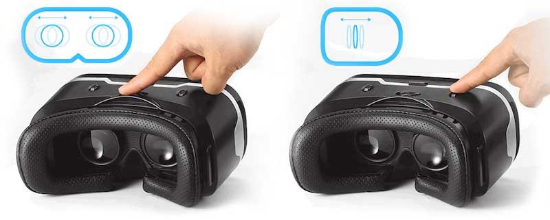 Настройка очков виртуальной реальности для смартфона