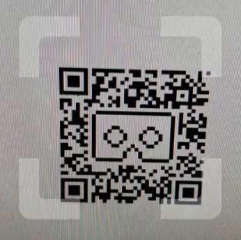 Пример QR-кода для настройки VR в телефоне