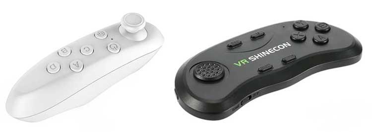 Bluetooth пульт для управления смартфоном в VR режиме