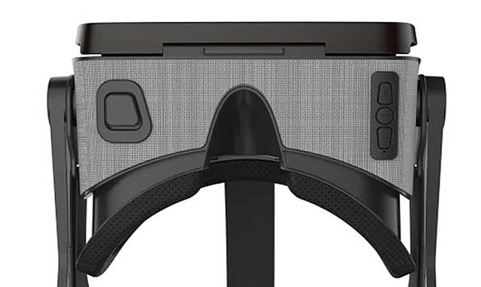 Функцилнальные кнопки VR очков