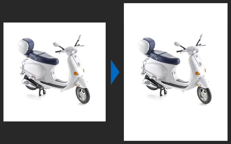 Пример редактирования - до и после
