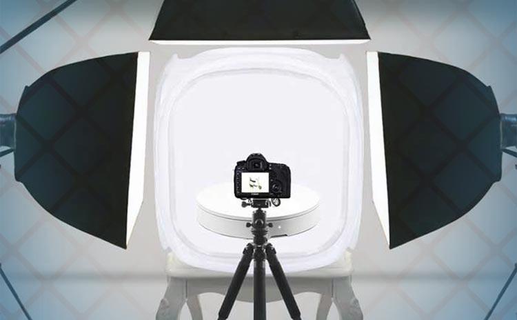 оборудование для предметной 3D съемки 360