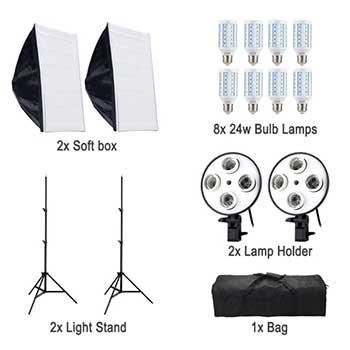 Освещения для предметной фотосъемки 360